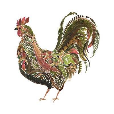 Nature - Green Rooster